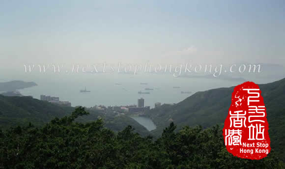 South China Sea from the Peak