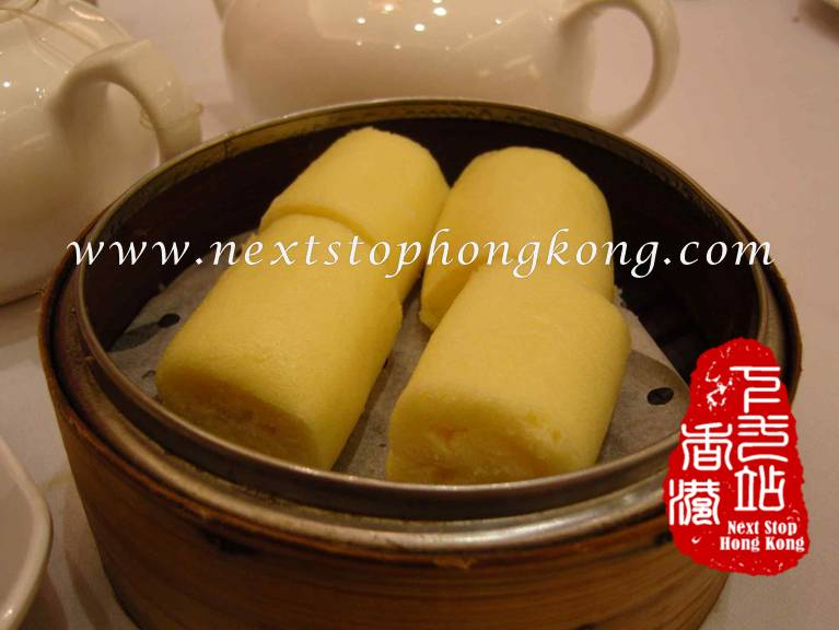Malay Steamed Sponge Roll