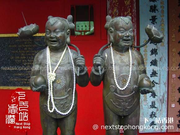Statues in Tin Hau Temple Repulse Bay