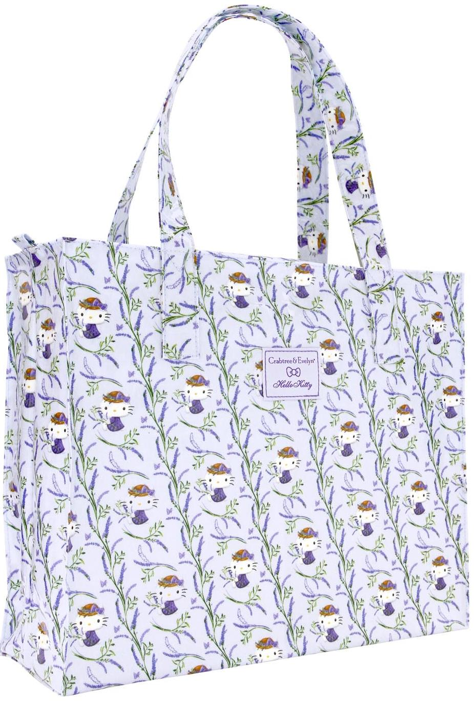 Lavender X Hello Kitty Tote Bag