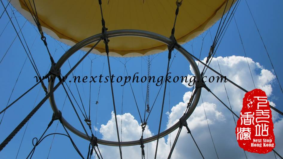 DHL Hong Kong Balloon Wires