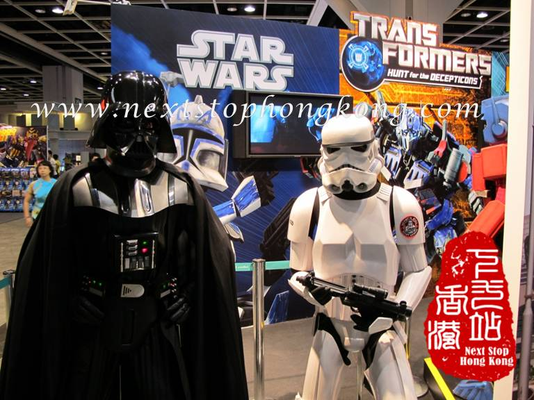 Darth Vader and Stormtrooper at the Animation-Comic-Game Hong Kong