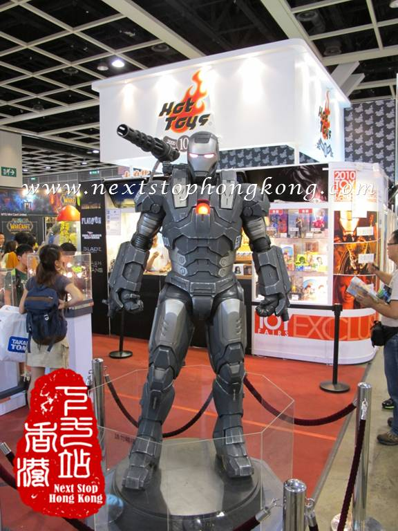 Original Height Display of Iron Man at the Animation-Comic-Game Hong Kong