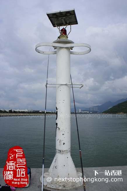 沙螺湾码头上的灯塔