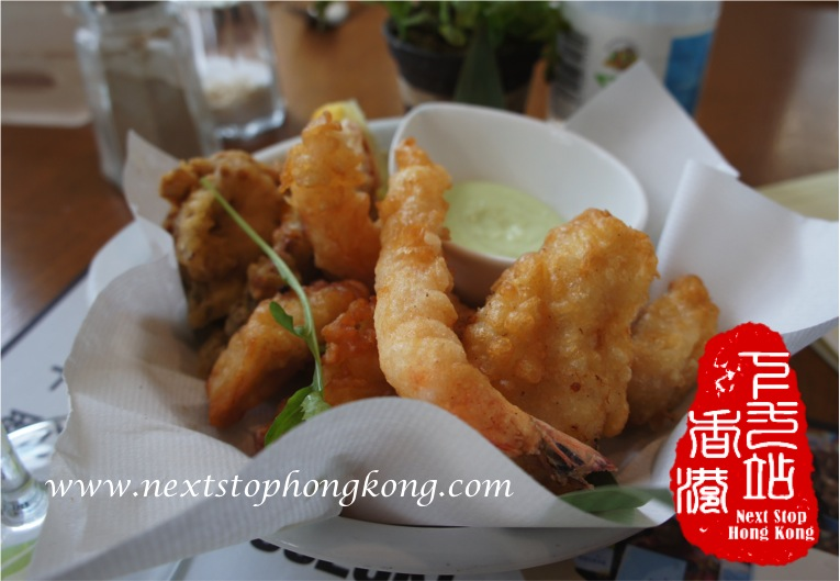 Deep Fried Seafood