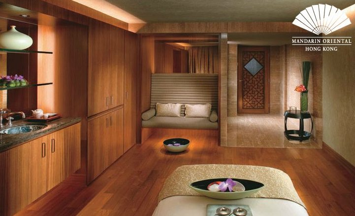 Mandarin Spa Treatment Room at Mandarin Oriental