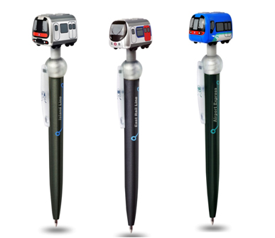 MTR Q Train Pen with Magnet