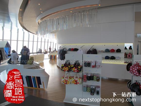 天際100香港觀景台紀念品商店