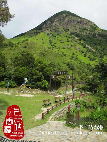 Way to Wisdom Path on Ngong Ping