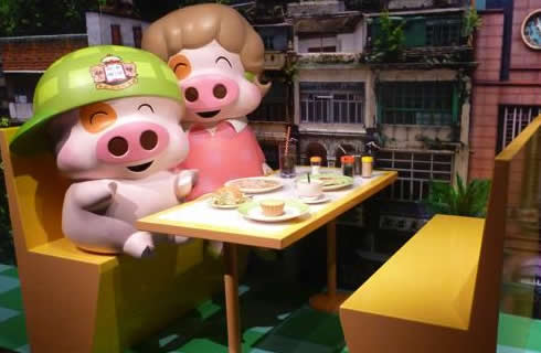 McDull in Madame Tussauds