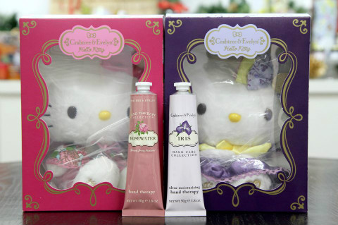 瑰柏翠 Crabtree & Evelyn 2012 圣诞Hello Kitty特别版花香公主系列