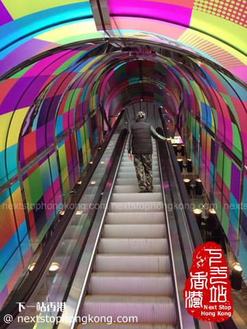 "Andy Warhol ""15 Minutes Eternal"" Exhibition Escalator"