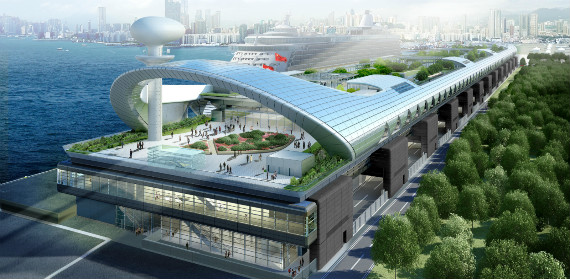 Grand Opening of the Kai Tak Cruise Terminal