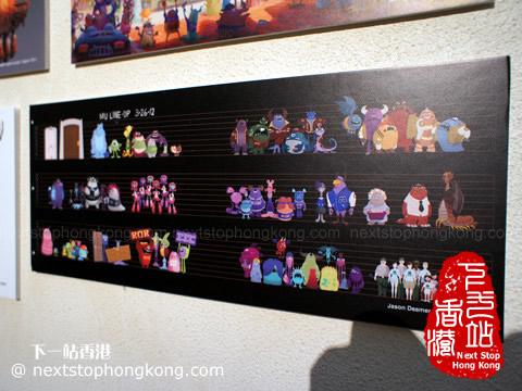 香港時代廣場的怪獸大學展覽