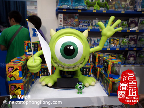 Monsters University at Time Square Hong Kong