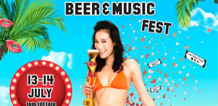 Lan Kwai Fong Beer and Music Fest 2013