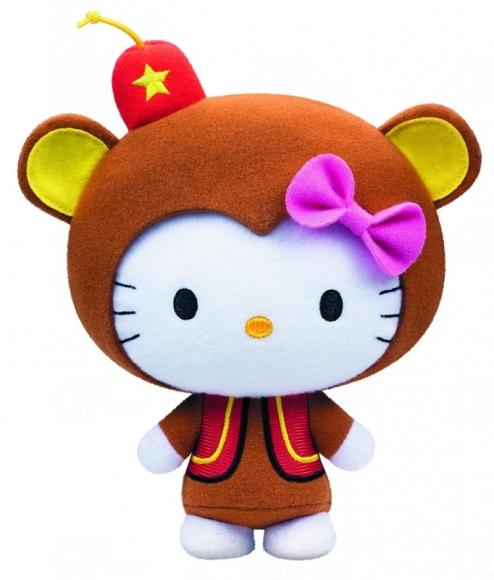 "Hong Kong McDonalds Hello Kitty ""Circus of Life"" Collection - Chimp"