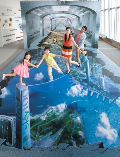"Hong Kong Sky100 ""Sky-High Summer 3D Wonderland"" Campaign"