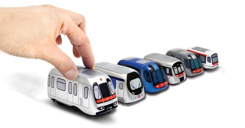 MTR Pull-Back Train Set 2013