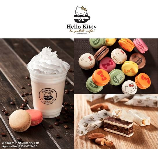 Hello Kitty Le Petit Café Opens in Hong Kong SOGO