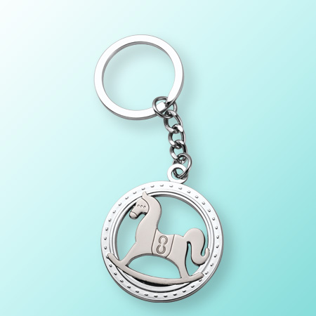 Free Lucky Keychain of New Year's Horse Racing