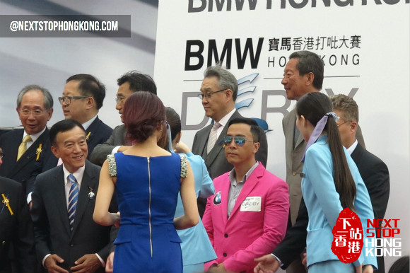 Donnie Yen at BMW Hong Kong Derby 2013