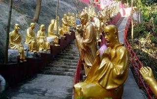 10000 Buddhas Monastery Temple Hong Kong