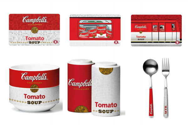 Limited Edition MTR x Campbell's Soup Souvenir Ticket Sets 2014