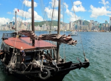 Chinese Junk Duk Ling Hong Kong