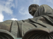 Giant Buddha on Lantau Island