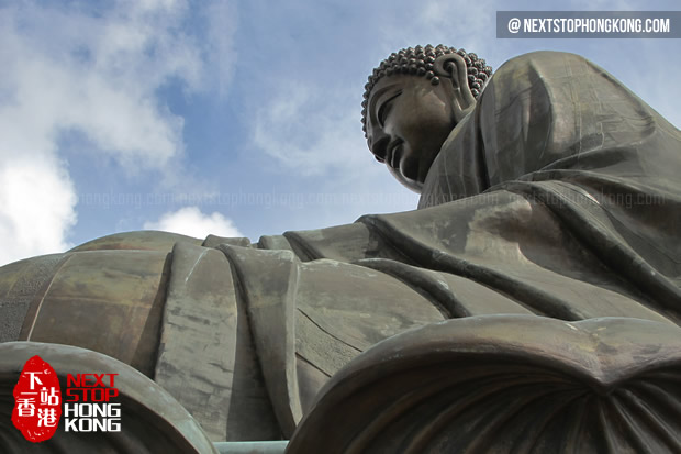 Bid Buddha or Giant Buddha on Lantau Island