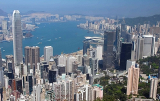 Hong Kong Day Views from the Peak