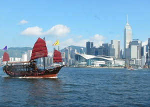Hong Kong Victoria Harbour Day Views