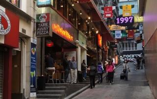 Lan Kwai Fong Hong Kong
