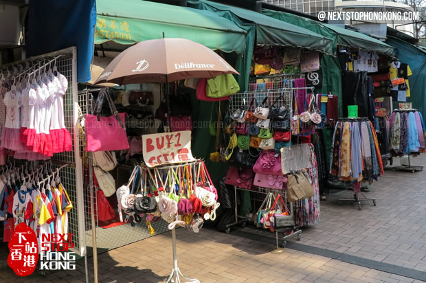 Small Stalls in Stanley Market
