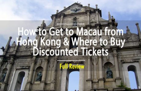 How to Get to Macau from Hong Kong