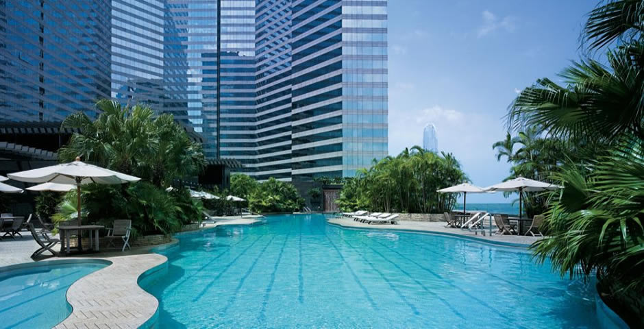Swimming Pool of Grand Hyatt Hong Kong