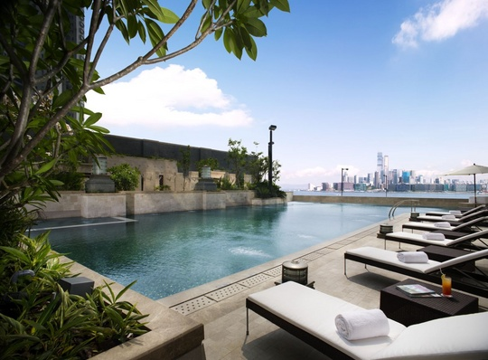 Swimming Pool of Harbour Grand Hong Kong