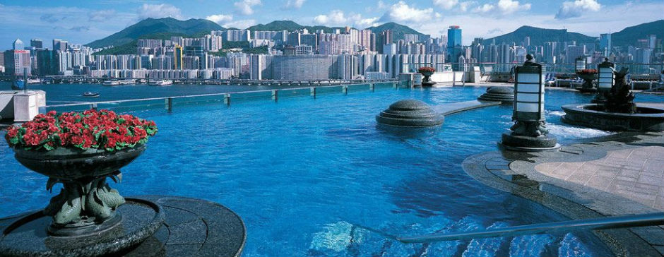 Swimming Pool of Harbour Grand Kowloon