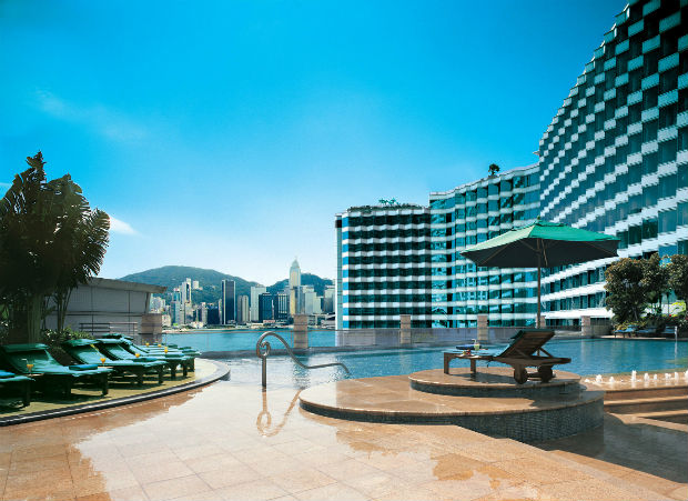 Swimming Pool in Harbour Plaza Metropolis Hotel Hong Kong