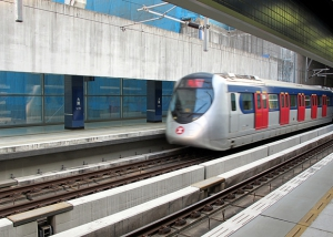 Hong Kong MTR Train