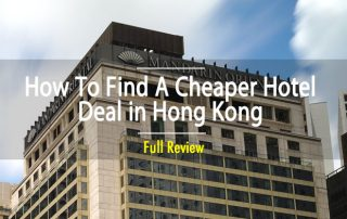 How to Find A Cheap Hotel in Hong Kong