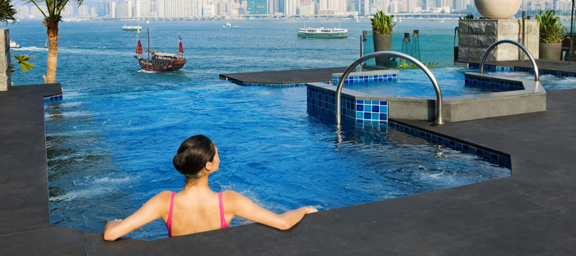 Intercontinental Hotel Hong Kong - Infinity Spa Pools