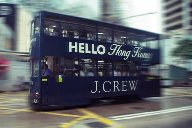 J. Crew Opens First Asian Pacific Stores in Hong Kong