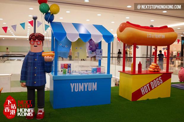 "LCX x Yum Yum ""The Happy World"" Exhibition 2014"
