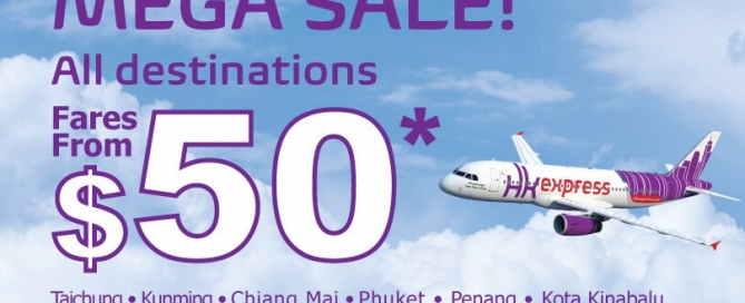 Mega Sale of HK Express