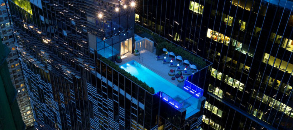 Swimming Pool of Hotel Indigo Hong Kong