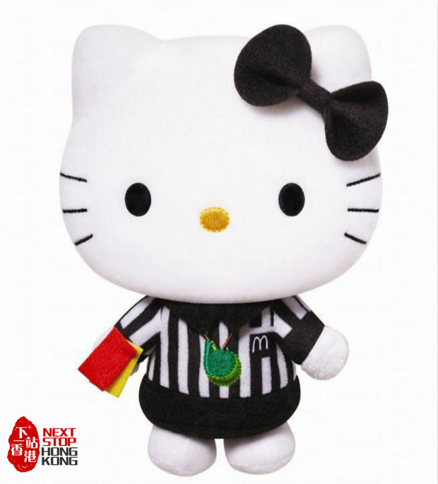 "Hong Kong McDonalds Hello Kitty ""K League"" Collection - Referee"