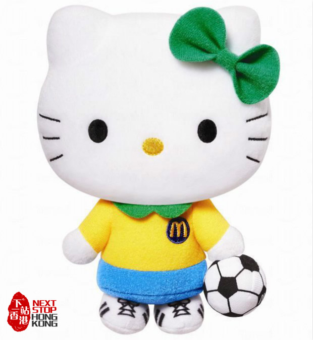 "Hong Kong McDonalds Hello Kitty ""K League"" Collection - Striker"