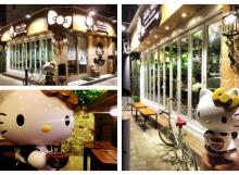 Hello Kitty Secret Garden Cafe Hong Kong